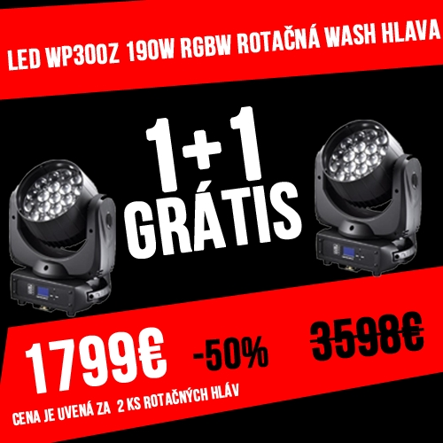 EXP LED WP300Z 190W RGBW DUO PACK